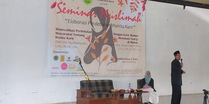 HIMI PERSIS Tasikmalaya Raya Selenggarakan Seminar Muslimah dan Lomba Se-Jawa Barat