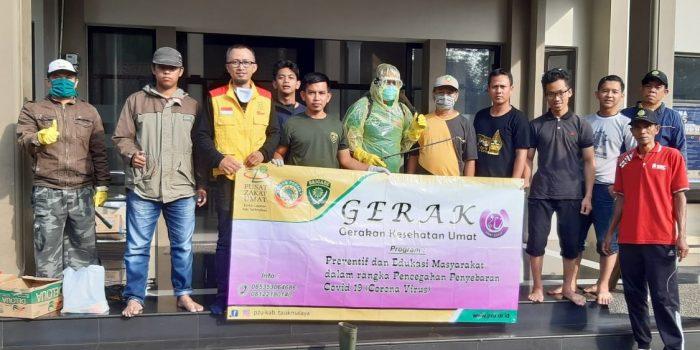Tim GERAK PZU dan SIGAB PERSIS Kab. Tasikmalaya Tanggap Bencana
